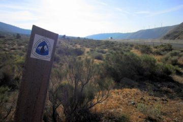Pacific Crest Trail - Cameron Road Trailhead