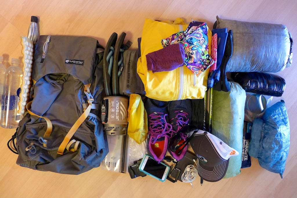 Rockin's 2015 Summer Hiking Gear - Everything but the Food