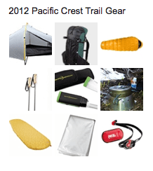 2012 PCT Gear on Pinterest
