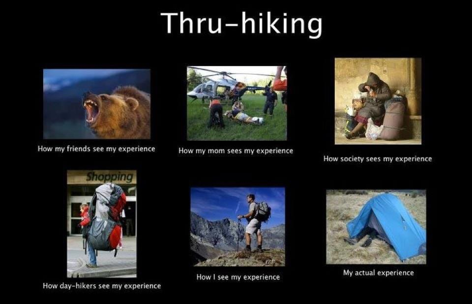 Thru-hiking