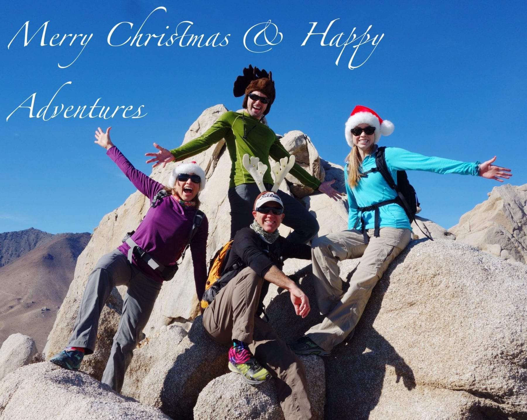 Merry Christmas from Five Fingers Peak