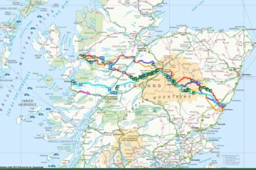 Examples of Routes across Scotland