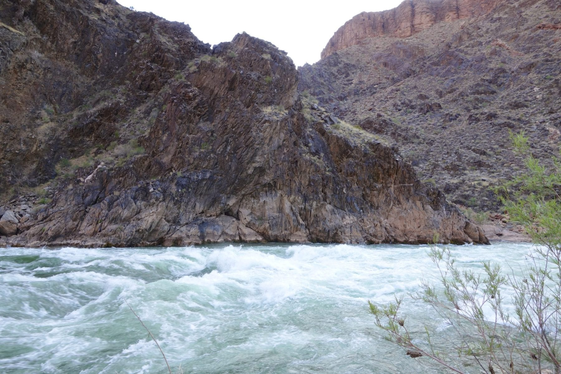 Crystal Rapids on the Colorado River