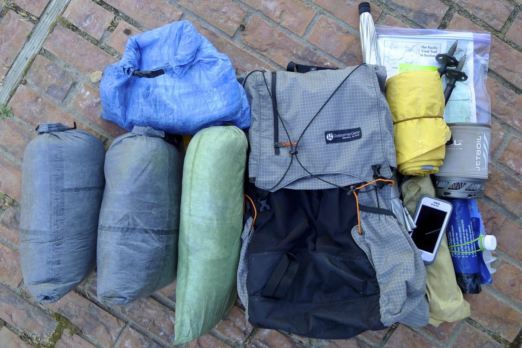Backpacking Gear 2014-15