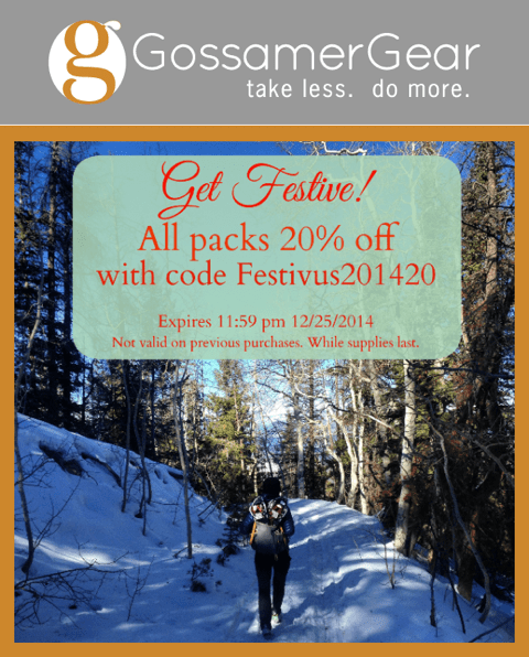 Gossamer Gear Discount Coupon Code