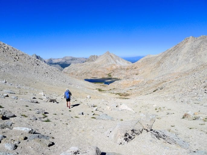 Descending col to Bear Lakes Basin