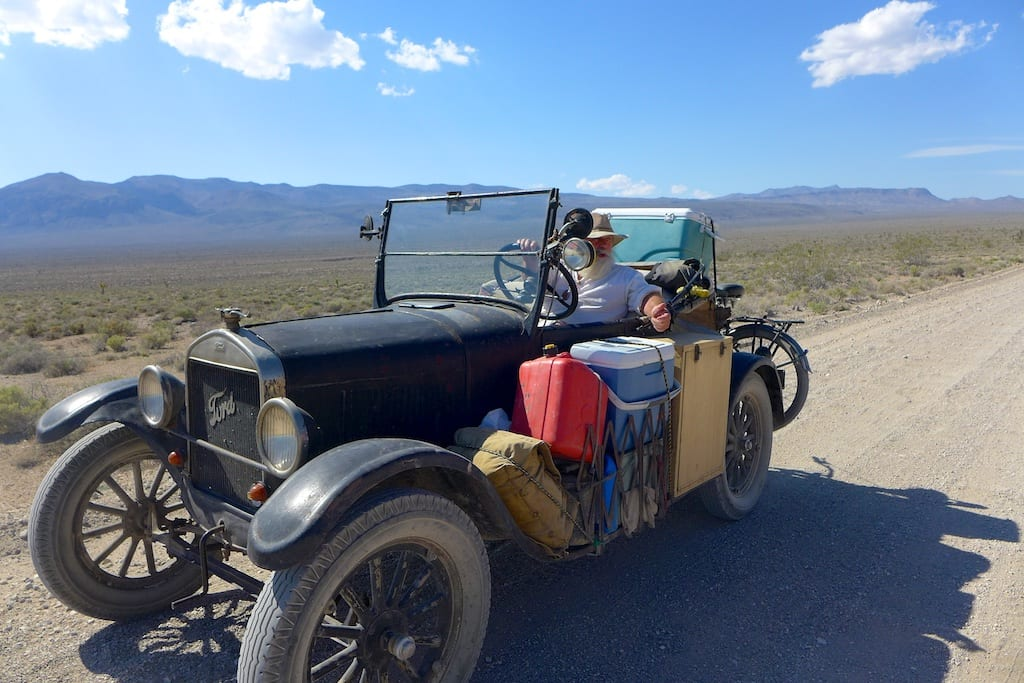 Cool ride on Saline Valley Road