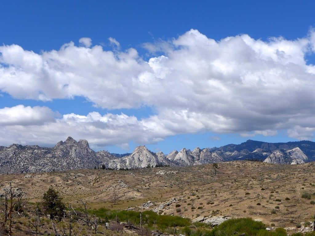 Domeland Wilderness from Rockhouse Basin