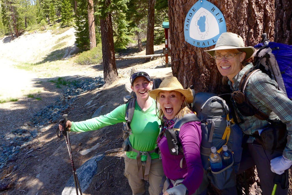 Tahoe Rim Trail Head - Wired, Rockin' and Why Not
