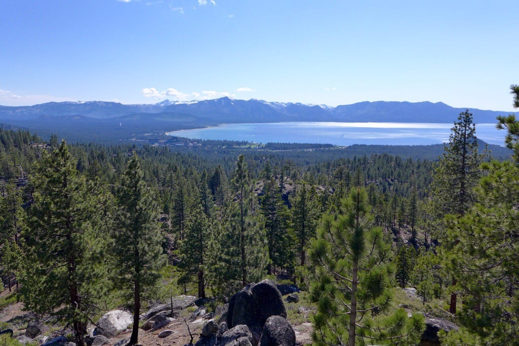 First View of Lake Tahoe