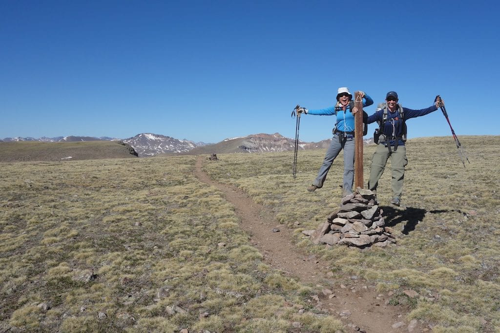 VOTE FOR THE CONTINENTAL DIVIDE TRAIL (Rockin' and Wired on the highest point of the CDT 2013)