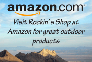 Lady on a Rock at Amazon