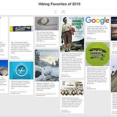 My annual list of Hiking Favorites of 2015 is uphellip