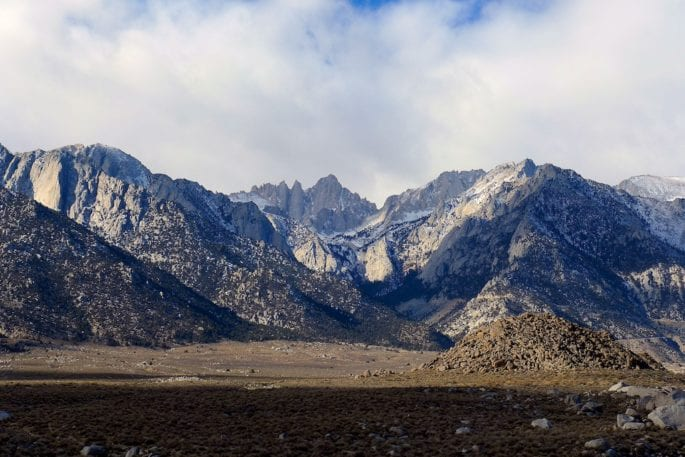 Mount Whitney - Alabama Hills