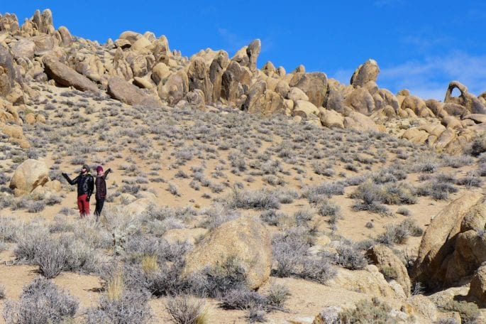 Looking for arches... - Alabama Hills