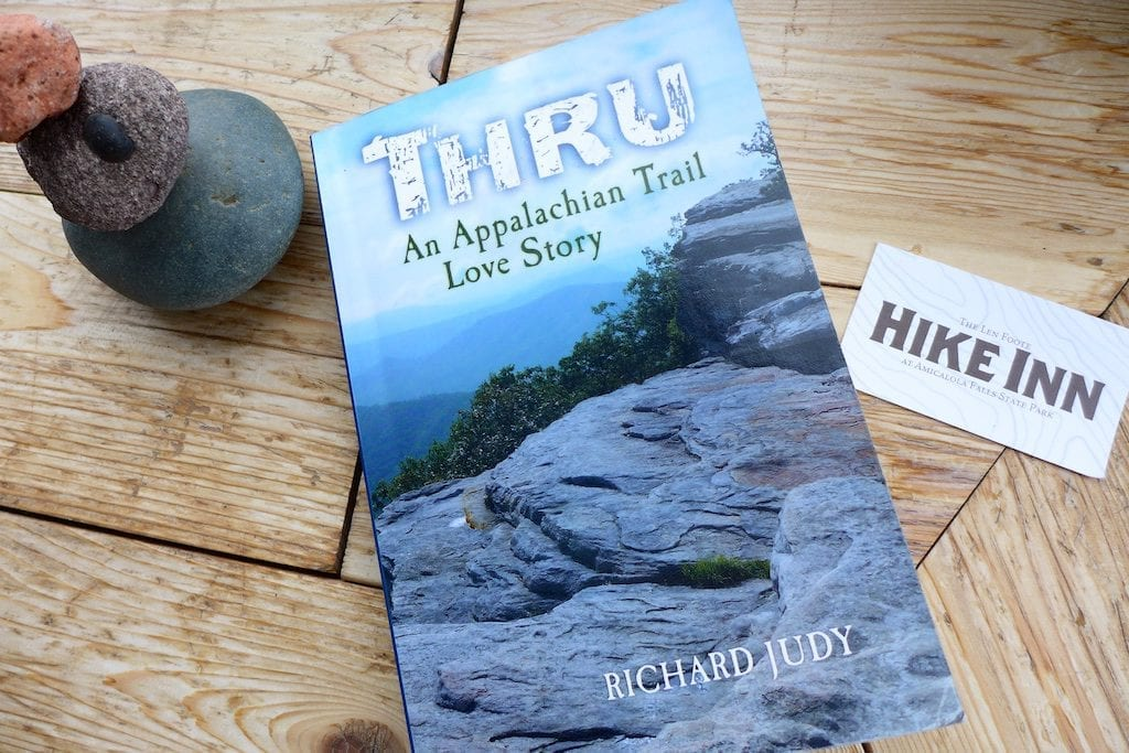 My autographed copy of Thru: An Appalachian Trail Love Story