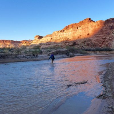 Day 6 Hayduke – Red Ledges, Fiddler Cove, and You Dirty Devil