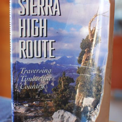 Sierra High Route Here We Come!