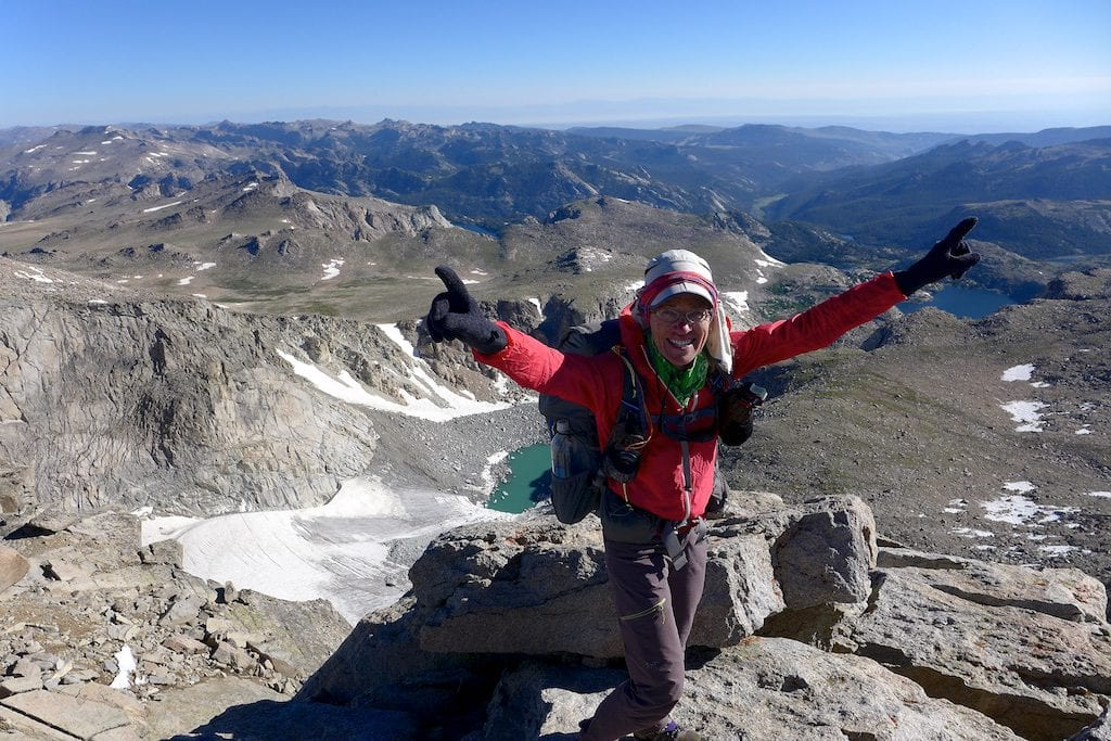 Why Not on Summit of Wind River Peak